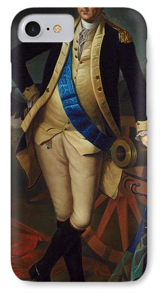George Washington IPhone 7 Case by Charles Wilson Peale