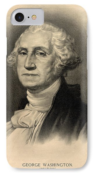 George Washington IPhone Case by Bill Cannon
