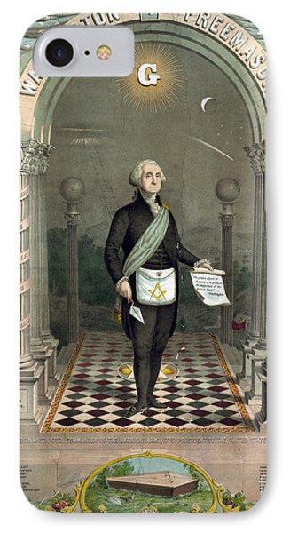 George Washington Freemason IPhone Case