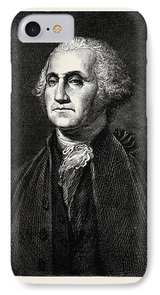George Washington, He Was One Of The Founding Fathers IPhone Case by American School