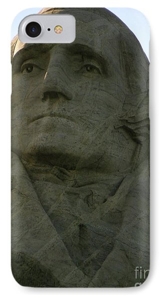 George Washington IPhone Case by KD Johnson