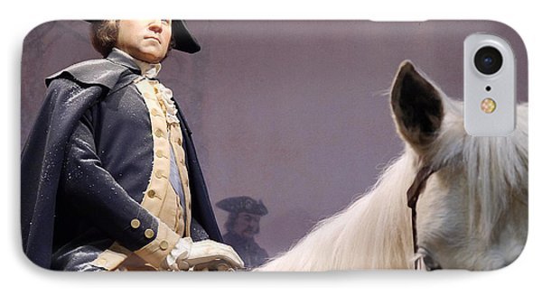 George Washington  IPhone Case by Richard Reeve