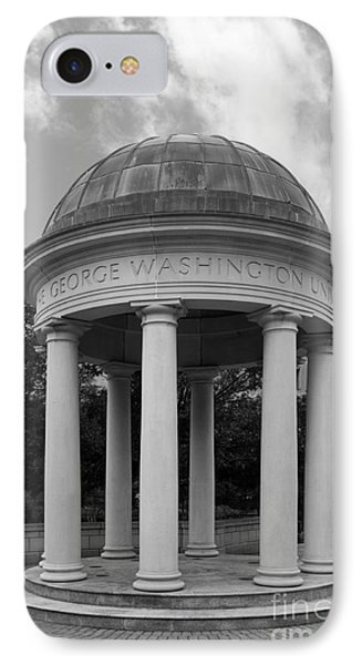 George Washington University Kogan Plaza IPhone Case by University Icons