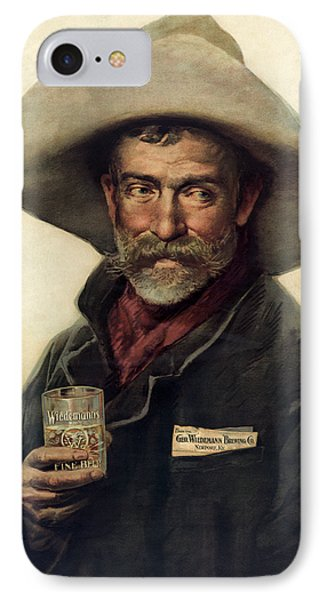 George Wiedemann's Brewing Company C. 1900 IPhone Case by Daniel Hagerman