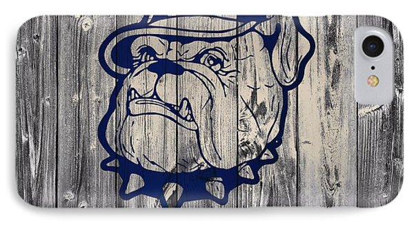Georgetown Hoyas Barn IPhone Case by Dan Sproul