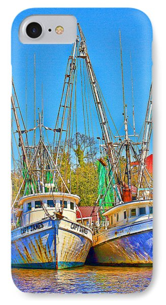 Georgetown Shrimpers Phone Case by Bill Barber