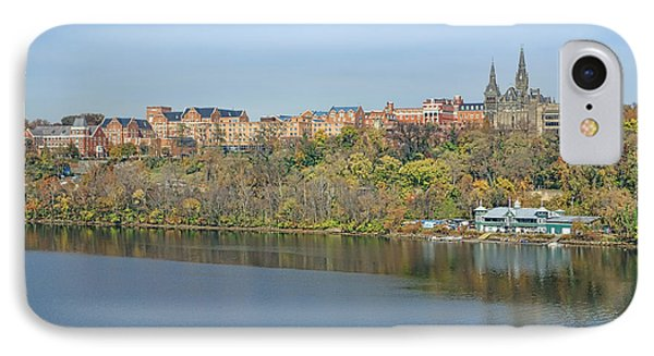 Georgetown University Neighborhood IPhone Case by Olivier Le Queinec