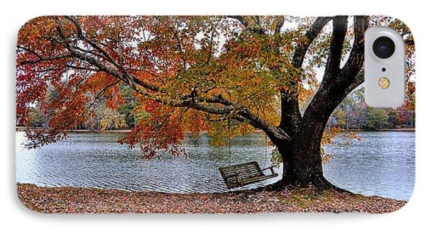 Georgia Lake And Swing IPhone Case