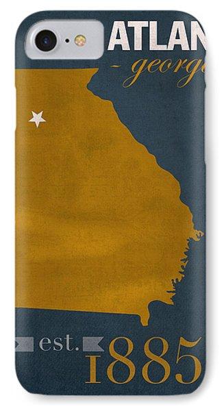 best website 91c17 f0adf Georgia Tech Yellow Jackets iPhone 7 Cases   Fine Art America