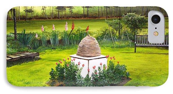 Georgian Herb Garden IPhone Case by Kevin F Heuman