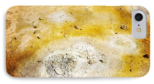 Geothermal Area Detail Iceland IPhone Case by Matthias Hauser