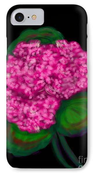 IPhone Case featuring the digital art Geranium by Christine Fournier