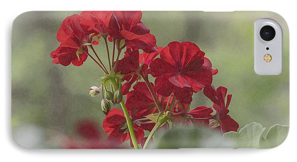 IPhone Case featuring the photograph Geranium II by Wayne Meyer