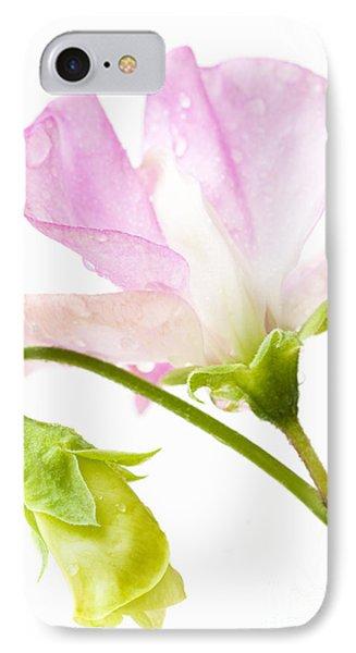 Geranium Pink Phone Case by Anne Gilbert