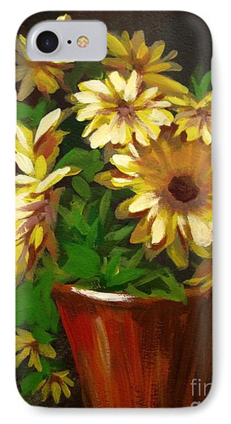 Gerber Daisies 3 IPhone Case by Carol Hart