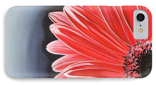 Gerber Daisy IPhone Case by Kevin F Heuman