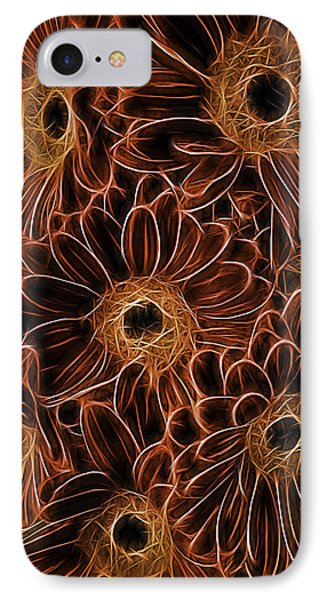 Gerbera Abstract IPhone Case by Garry Gay