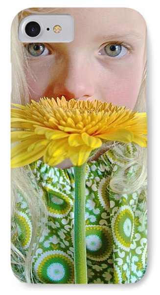 Gerbera Girl IPhone Case