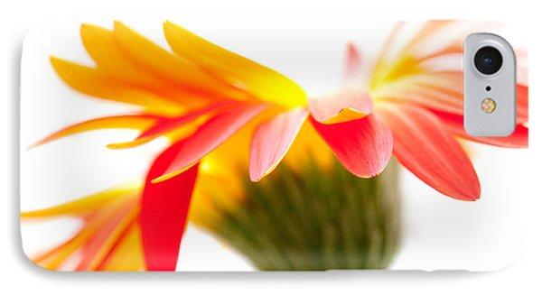 Gerbera Mix Crazy Flower - Orange Yellow Phone Case by Natalie Kinnear