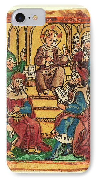 German 15th Century, The Twelve Year Old Jesus In The Temple IPhone Case