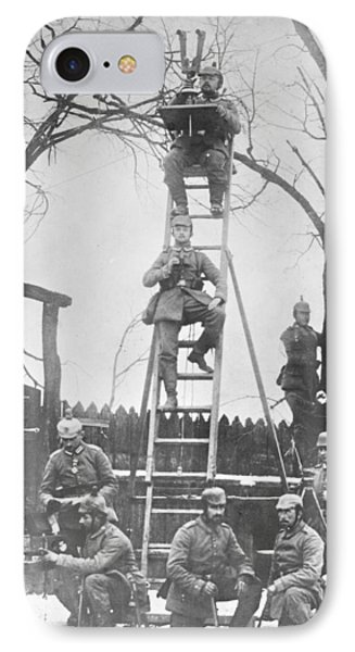 German Field Observers IPhone Case by Library Of Congress