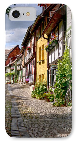 German Old Village Quedlinburg Phone Case by Heiko Koehrer-Wagner