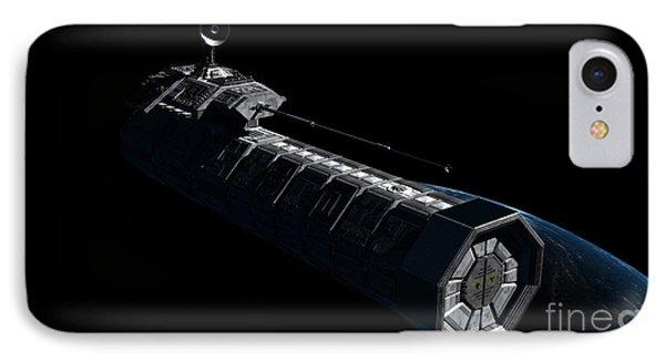German Orbital Weapons Platform IPhone Case by Rhys Taylor