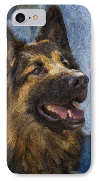 German Shepard IPhone Case