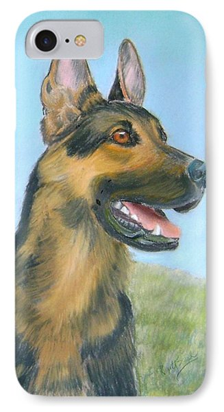 German Shepherd Dog IPhone Case