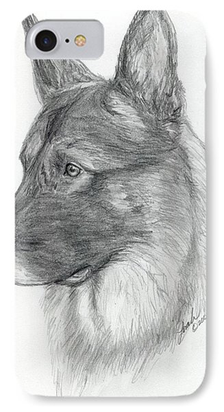 German Shepherd Phone Case by Lorah Buchanan