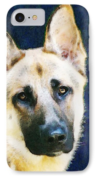 German Shepherd - Soul IPhone Case