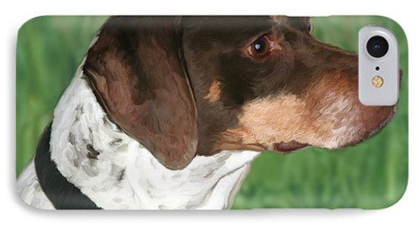 German Shorthaired Pointer IPhone Case by Paul Tagliamonte