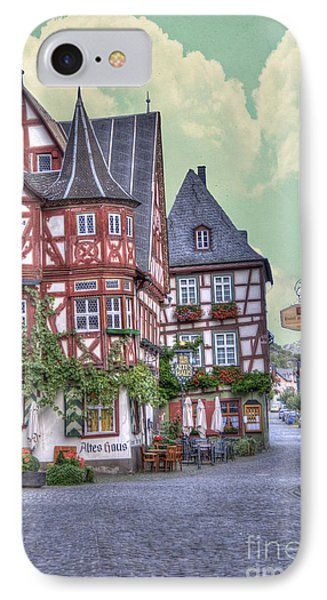 German Village Along Rhine River IPhone Case by Juli Scalzi