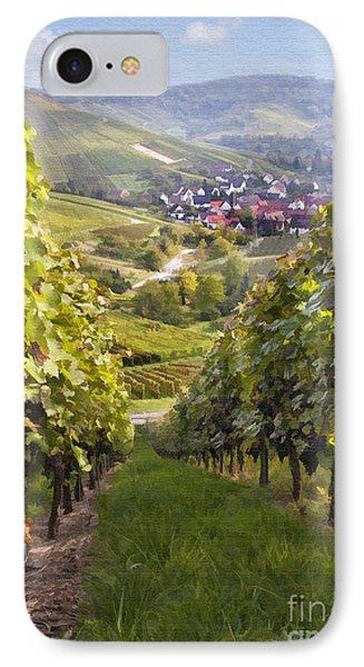 German Vineyard Phone Case by Sharon Foster