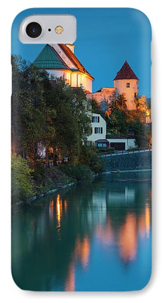 Germany, Bavaria, Fussen, Franciscan IPhone Case by Walter Bibikow