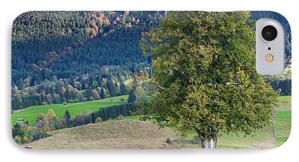 Germany, Bavaria, Halblech, Alpine IPhone Case by Walter Bibikow