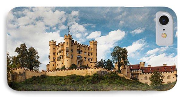 Germany, Bavaria, Hohenschwangau IPhone Case by Walter Bibikow