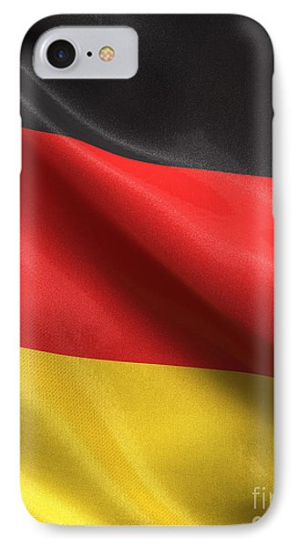 IPhone Case featuring the photograph Germany Flag by Carsten Reisinger