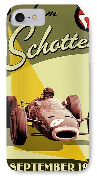 Germany Grand Prix F1 1967 IPhone Case by Georgia Fowler