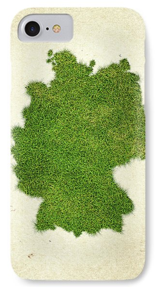 Germany Grass Map IPhone Case