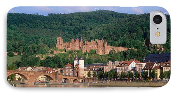 Germany, Heidelberg, Neckar River IPhone Case by Panoramic Images
