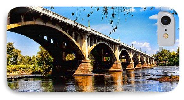 Gervais St Bridge IPhone Case by Patricia L Davidson