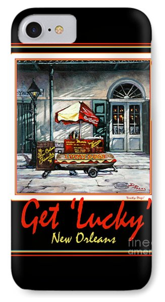 Get ' Lucky ' -  New Orleans Phone Case by Dianne Parks