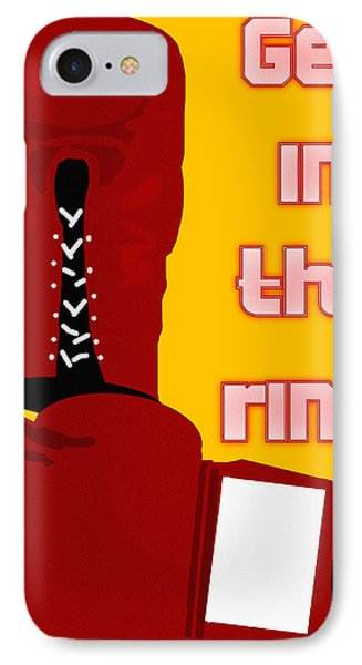 Get In The Ring Phone Case by Pharris Art