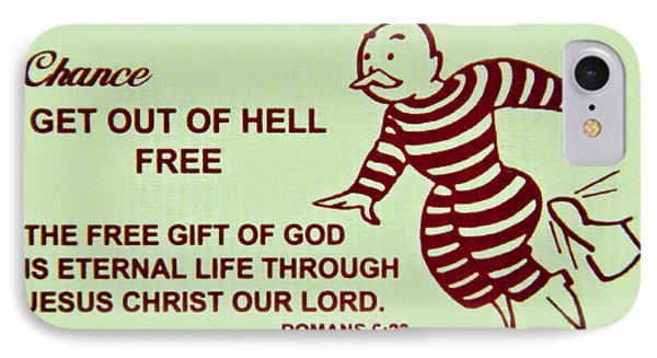 Get Out Of Hell Free IPhone Case by Reid Callaway