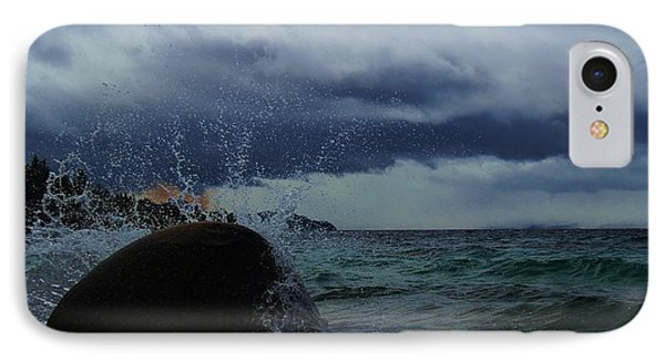 IPhone Case featuring the photograph Get Splashed by Sean Sarsfield