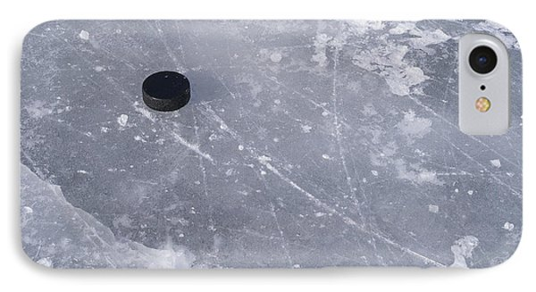 Get The Puck Outta Here IPhone Case by Steven Ralser
