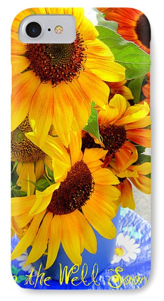IPhone Case featuring the photograph Get To The Well Soon by Kathy Bassett