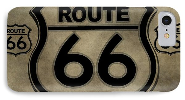 Get Your Kicks On Route 66 IPhone Case by Dan Sproul