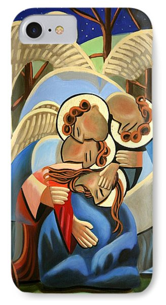 Gethsemane The Hour Is Near Phone Case by Anthony Falbo